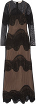 Emilio Pucci Embroidered tulle gown