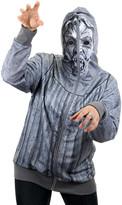 Elope Costume Outfits - Weeping Angel Zip-Up Hoodie - Adult