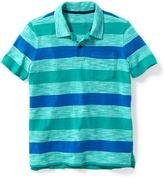 Old Navy Striped Pocket Polo for Boys