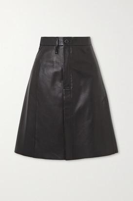 Acne Studios Leather Skirt - Black