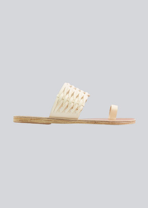 Ancient Greek Sandals Thalia Woven Toe-Ring Flat Sandals