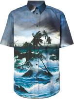 Givenchy Hawaii print shirt
