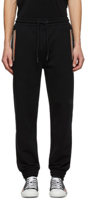Burberry Black Barns Lounge Pants
