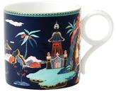 Wedgwood Large Wonderlust Blue Pagoda Mug