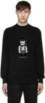 Dolce & Gabbana Black Cowboy Sweater