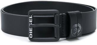 Diesel Mohawk logo belt