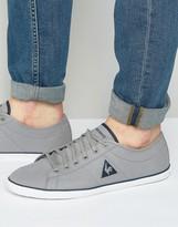 Le Coq Sportif Slimset Canvas Sneakers In Gray 1710212