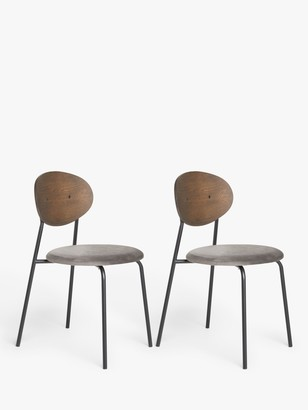 House by John Lewis Disc Dining Chair, Set of 2