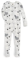 Tea Collection Infant Girl's Baa Baa Fitted One-Piece Pajamas