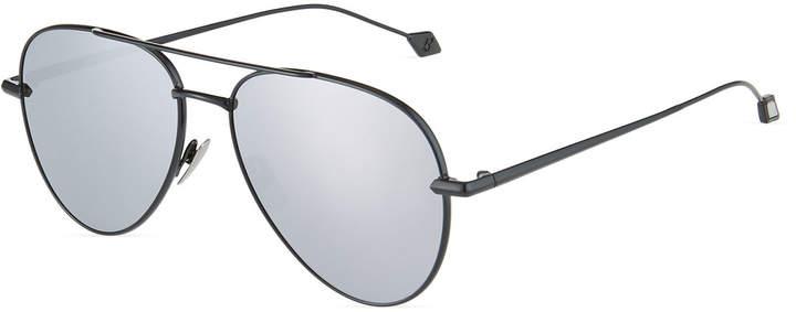 Brioni Metal Aviator Sunglasses