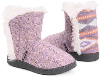 Muk Luks Women's Slippers Lavender/Pink - Lavender & Pink Cheyenne Slipper Boot - Women