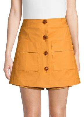 Finders Keepers Buttoned Skort