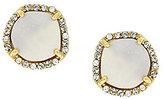 Louise et Cie Shell Pearl Stud Earrings