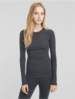 Calvin Klein Collection Stretch Cashmere Crew Neck Sweater