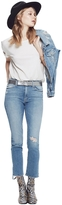 Mother High Waisted Rascal Ankle Jean In Love Gun