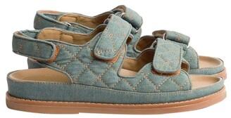 Tony Bianco Hiranni Washed Denim Sandals