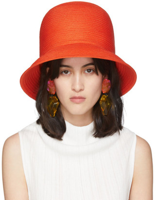 Nina Ricci Orange High Hat