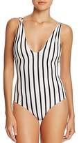 Tori Praver Stripe Elena One Piece Swimsuit
