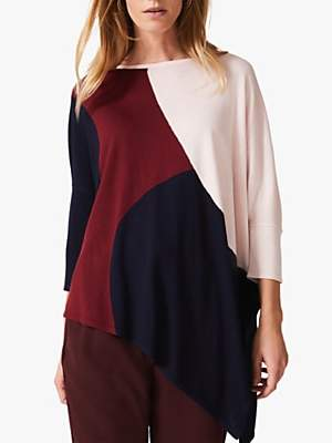 Phase Eight Cady Circle Jumper, Claret