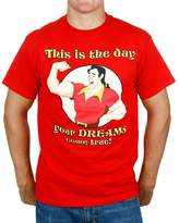 Mighty Fine Disney Gaston Dreams Come True Mens T-Shirt