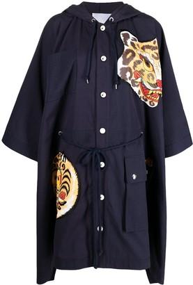 Kenzo x Kansai Yamamoto tiger cape coat
