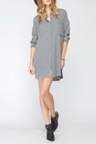 Gentle Fawn Long Sleeved Shirt Dress