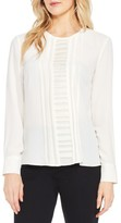 Vince Camuto Petite Women's Pintuck Blouse