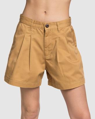 Quiksilver Womens Slack High Waist Short