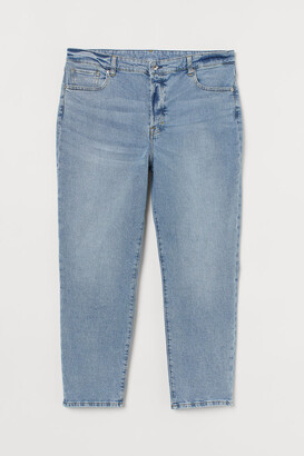 H&M H&M+ Mom High Jeans - Blue