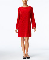 ECI Velvet Shift Dress