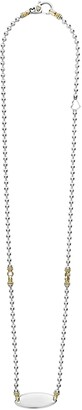 Lagos Beloved Oval Plate Chain Necklace