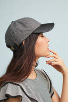 Anthropologie Herringbone Baseball Cap