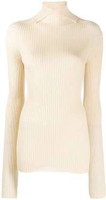 Jil Sander Turtleneck Knitted Sweater