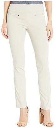 Elliott Lauren Control Stretch Pull-On Pants with Welt Pockets