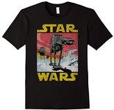 Star Wars AT-AT Sunset Logo Walker Graphic T-Shirt