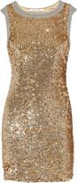 Willamina sequined silk dress