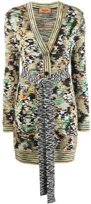 Missoni abstract pattern cardigan