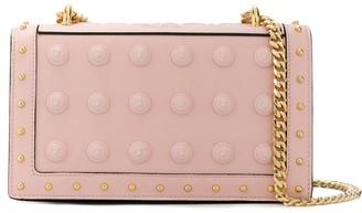 Balmain Love button-embellished shoulder bag