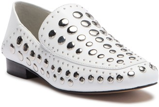 1 STATE Flintia Leather Studded Loafer