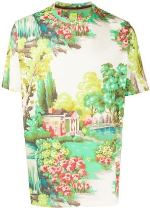 Paul Smith garden print T-shirt