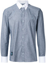 GUILD PRIME dots print shirt - men - Cotton - 1