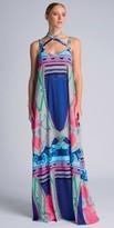 Julian Chang Emily Criss Crossed Maxi Dress