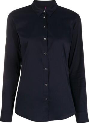 Tommy Hilfiger Plain Regular-Fit Shirt