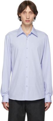 Dries Van Noten Blue Cotton Poplin Shirt