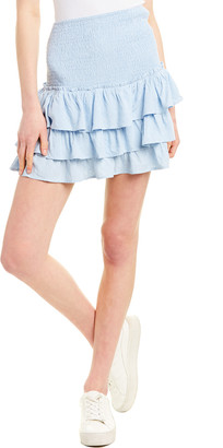 Aiden Ruffle Mini Skirt