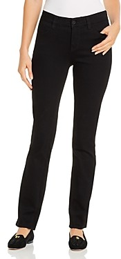 Jag Jeans Ruby Straight-Leg Jeans in Black Void
