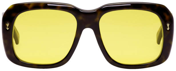 Gucci Tortoiseshell Opulent Luxury Sunglasses