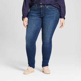 Universal Thread Women's Plus Size Curvy Skinny Jeans - Universal ThreadTM