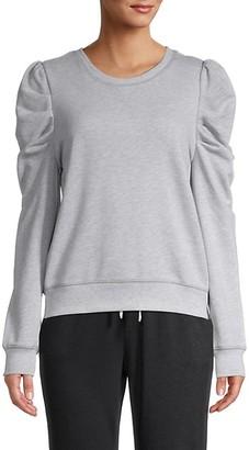 Lea & Viola Puff-Sleeve Sweater