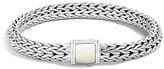 John Hardy Sterling Silver Classic Chain Bracelet with Bone